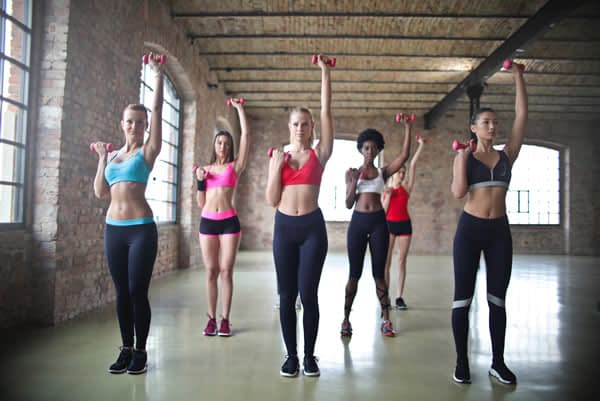 Exercising is good for weight loss and to build lean muscles