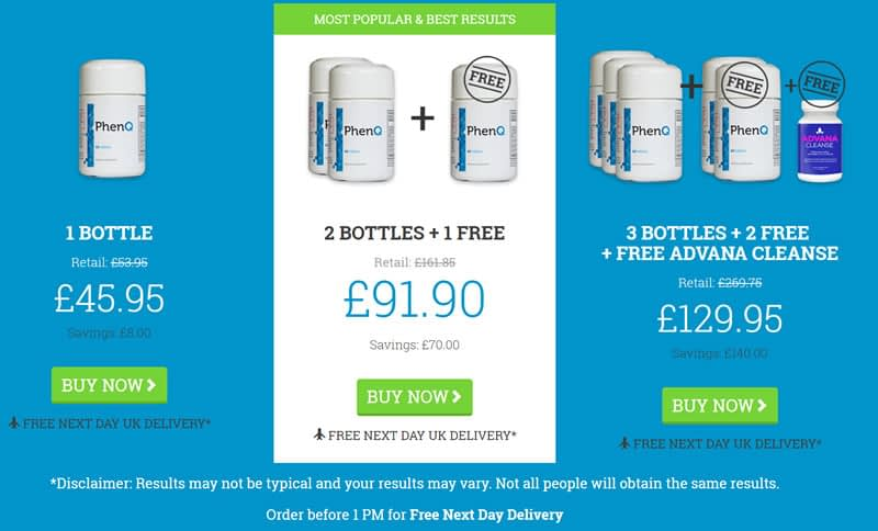 Phen Q UK Special offer and great savings