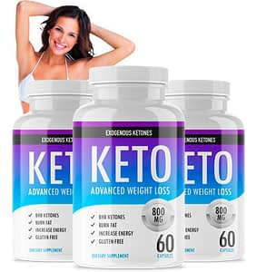 Bottles of Keto Advanced