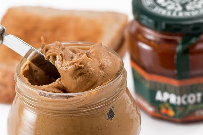 Peanut butter for protein