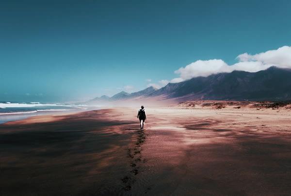 Walking In Sand A Good Calorie Burn