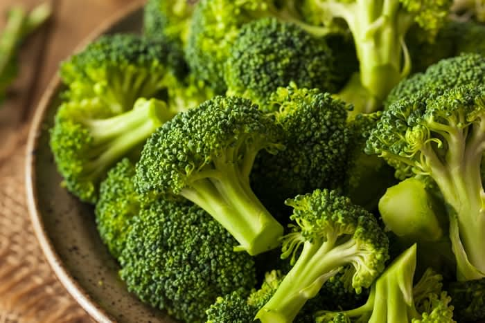 Broccoli as a protein source