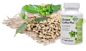 Bottle of Green Coffee Plus