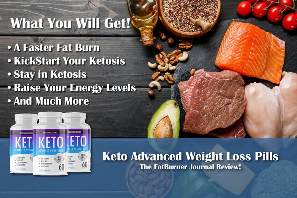 Keto Advanced weight loss pills! Effective for fat burn?