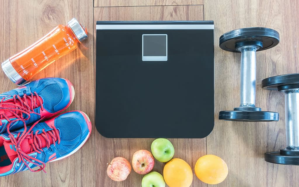 How much weight to lose in a month