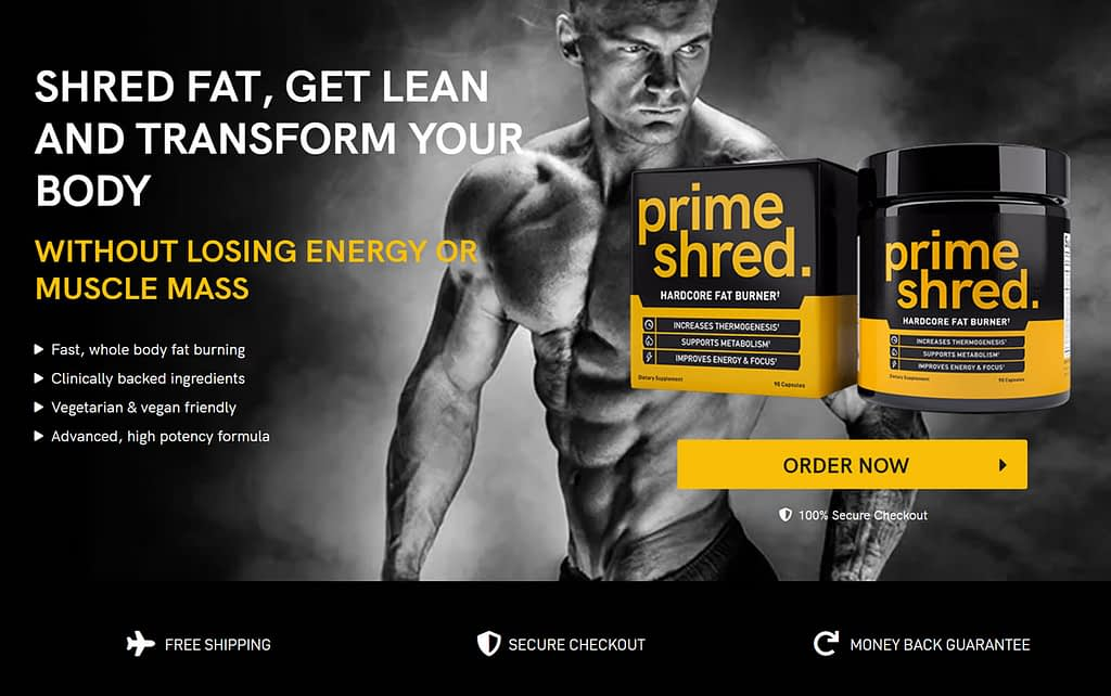 buy PrimeShred - The best fat burner for men