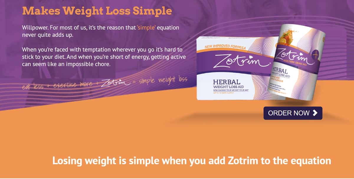 buy Zotrim herbal supplement