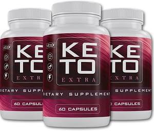 Bottles of Keto Extra