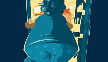 How to stop comfort eating and move on with your life
