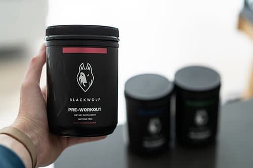 Blackwolf Pre Workout For Women