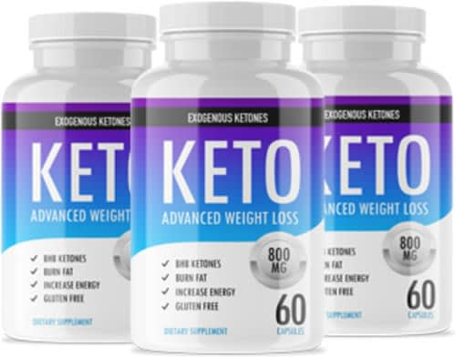 Keto Advanced Bottles