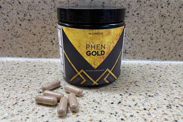 Bottle of PhenGold