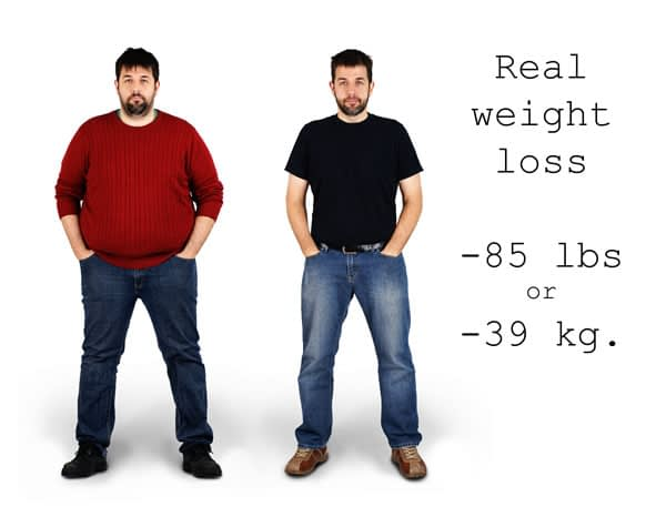 best weight loss supplements for men before and after example