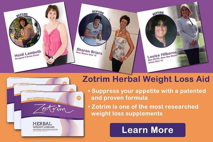 Zotrim to suppress appetite