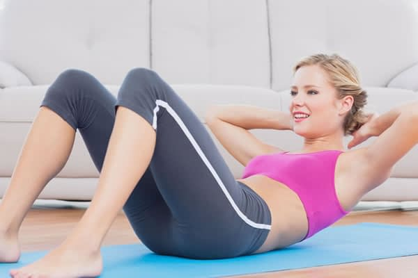 Do situps really burn belly fat?