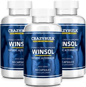 Winsol bottles for your fat burn