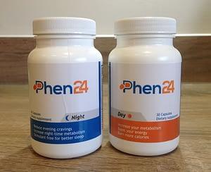 Phen24 bottles